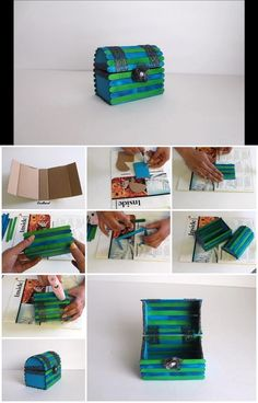 How to Make Jewelry Chest with Popsicle Sticks