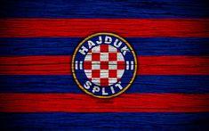 Download wallpapers Hajduk Split, 4k, HNL, art, soccer, football, Croatia, FC Hajduk Split, wooden texture, logo, football club, Hajduk Split FC The Splits, Hnk Hajduk Split, Split Croatia, Wooden Textures, Red Bull Racing, Sports Wallpapers, Desktop Pictures, Football, Hd Picture