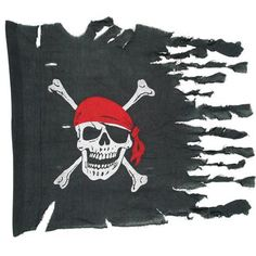 Show the effects of pirate battle with this Weathered Pirate Flag! Includes (1) flag.Includes (1) flag.