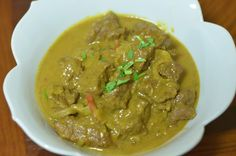 We worked on this recipe partially out of our love for curry and other similar cuisines, but also because we had 2 lbs of bison stew meat in the freezer that was ripe for cooking.  This stew looked...