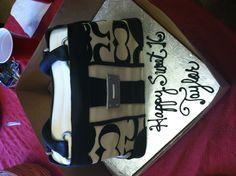 My 16th Birthday Coach Bag Cake!