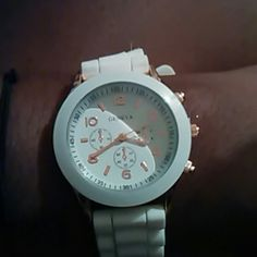 Watch Cute watch with rubber band Accessories Watches