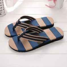 KOUY Summer Unisex Decorative Womens Day Home Slippers Bath//Beach Non Slip Slide Sandals