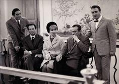 RENATO CIONI, CARLO MARIA GIULINI, MIRELLA FRENI, LUCHINO VISCONTI AND PIERO CAPPUCCILLI