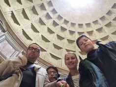 ceiling of pantheon in rome MLKBTTL