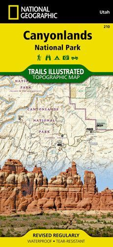 • Waterproof • Tear-Resistant • Topographic Map This map is updated to reflect road closings, new trails, and campground relocation, and includes detailed trail information, points of interest, trailh