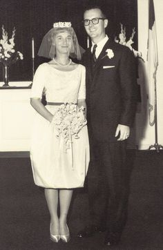 1962 1960s Wedding, Vintage Wedding Photos, Vintage Bridal, Wedding Pics, Wedding Couples, Wedding Bride, Wedding Styles, Wedding Gowns, Vintage Weddings
