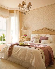 dormitorio romántico. Ana tiene un domitorio romántico