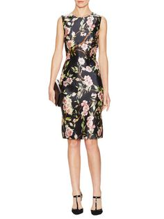 Floral Sheath Dress by Dolce & Gabbana at gilt