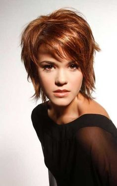 This category present you various trendy short hairstyles. You can find different trendy short haircuts and short trendy hairstyles. Short Hairstyles For Women, Trendy Hairstyles, Choppy Hairstyles, Braid Hairstyles, Teenage Hairstyles, Hairstyles 2016, Wedding Hairstyles, Wedge Hairstyles, Brunette Hairstyles
