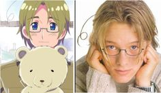 """Wicked accurate real life Hetalia faces (gallery) These are so good"" AAAAAAAAAAAAAAAAAAAH"