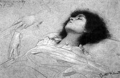 Gustav Klimt - Death of Juliet, 1886/87