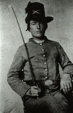 Pv.t John W. Grisham, Co. I 1st NC Cavalry