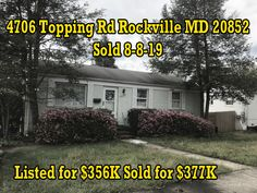 Huge demand led to multiple offers and selling over list price.