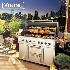 Grill by @Viking Range – call any of our Bilotta showrooms to help you create your dream outdoor kitchen!