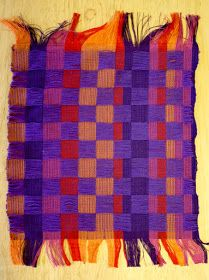Random Acts of Color: More Collapse Weave Samples on 4 Shafts Three Dimensional, Woven Fabric, Fiber Art, Weaving, Wool, Knitting, Cotton, Random Acts, Clothes