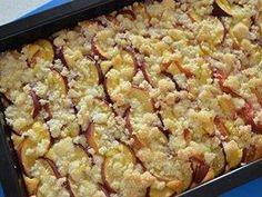 Koláč upečte v troubě vyhřáté na 175 stupňů Celsia, drobenka by přitom měla... Snack Recipes, Snacks, Sweet Cakes, Macaroni And Cheese, Vegetables, Ethnic Recipes, Food, Future, Straws