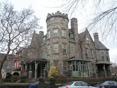 castle home in West Philadelphia