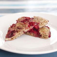 Baby-Led Weaning Breakfast - Microwave Raspberry Oat Cakes