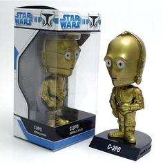 Boneco C3PO Star Wars Bobble Head Funko