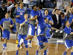 No, I don't get tired of these pictures. ;-) Kentucky going to the championship final!