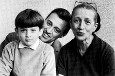 Diana Vreeland with her son Frederick and grandson Alexander'