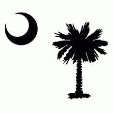 South carolina palmetto logo palmetto tree clear clip for Palmetto tree and moon tattoo