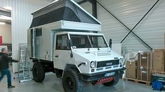 Iveco VM 90 with travel cabin globe camper offroad Camper Caravan, Off Road Camper, Truck Camper, Camper Trailers, Iveco 4x4, Iveco Daily 4x4, Sprinter Conversion, Overland Trailer, Offroader