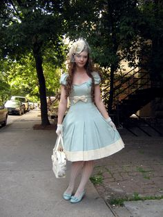 The lovely Fanny Rose, inspiration for all classic lolitas