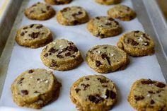 salted butter chocolate chunk shortbread