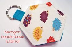 My Three Sons {and a busy girly Girl}: Hexagon needle book : tutorial