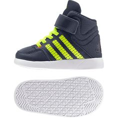 7266e7b7a4 Adidas Kids Shoes Sporty Jan BS 2 Ankle B23912 Blue Ortholite Trainers New