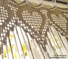 Cool & Curly Crochet Curtain Pattern
