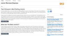 Juicer Reviews Express