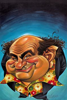 Danny DeVito by Vizcarra  ..FOLLOW THIS BOARD FOR GREAT CARICATURES OR ANY OF OUR OTHER CARICATURE BOARDS. WE HAVE A FEW SEPERATED BY THINGS LIKE ACTORS, MUSICIANS, POLITICS. SPORTS AND MORE...CHECK 'EM OUT!!