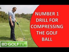 Number 1 Drill for Compressing the golf ball - YouTube
