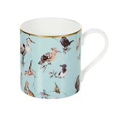 Buy House of Hackney 'Flights of Fancy' Mug, Duck Egg Online at johnlewis.com