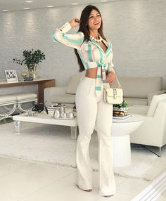 15 women's clothing jumpsuits and pants - Bilder Land Classy Outfits, Casual Outfits, Summer Outfits, Cute Outfits, Fashion Beauty, Girl Fashion, Womens Fashion, Fashion Pants, Fashion Dresses