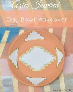 clay bowl makeover-