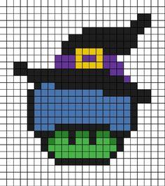 Tiny Cross Stitch, Beaded Cross Stitch, Bead Patterns, Cross Stitch Patterns, Pixel Crochet Blanket, Perler Bead Mario, Halloween Cross Stitches, Art Themes, Mario Bros
