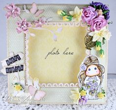 Live & Love Crafts' Inspiration and Challenge Blog: ♥ Photo Frame ♥