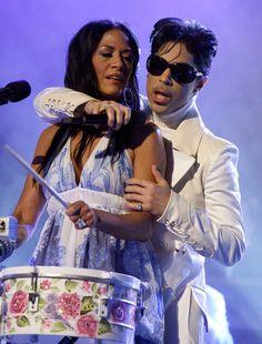 Prince  Shiela E - 2007 NCLR ALMA Awards - Show
