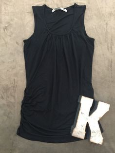 Athleta Black Sleeveless Shirt Women's Sz M* #Athleta #ShirtsTops