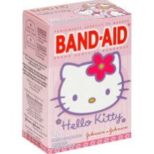 /// hello kitty band-aids