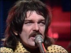 "Captain Beefheart - ""Upon The My O My Old Grey Whistle Test"" 1974 - Don Van Vliet '41-'10) an American musician, singer-songwriter, artist and poet known by stage name Captain Beefheart. His musical work conducted w/rotating ensemble of musicians called The Magic Band ('65–'82), recorded 13 studio albums. Noted for his powerful singing voice w/its wide range, Van Vliet played the harmonica/saxophone/wind instruments. His blend: rock, blues, psychedelia w/avant-garde and contemporary…"