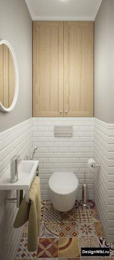 Bathroom Decor above toilet Ein originelles Dekor - bathroomdecor Bathroom Layout, Bathroom Storage, Bathroom Interior, Small Bathroom, Bathroom Ideas, Bathroom Cabinets, Master Bathroom, Bathroom Renovations, Bathroom Updates