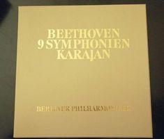 Beethoven/Karajan 9 Symphonien Sonderausgabe Austria Karajan Signiert 9 LP Austria, Lp, Cards Against Humanity, Ebay, Musik