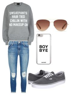 """Untitled #14"" by ellamcconnell2005 on Polyvore featuring J Brand, Vans, Private Party and Stella & Dot"