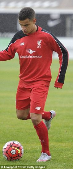 8e2b665904 Philippe Coutinho and Emre Can turn out for Liverpool Under 21s defeat