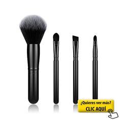 BESTOPE Pinceles de Maquillaje 4 Piezas Cepillo de... #maquillaje